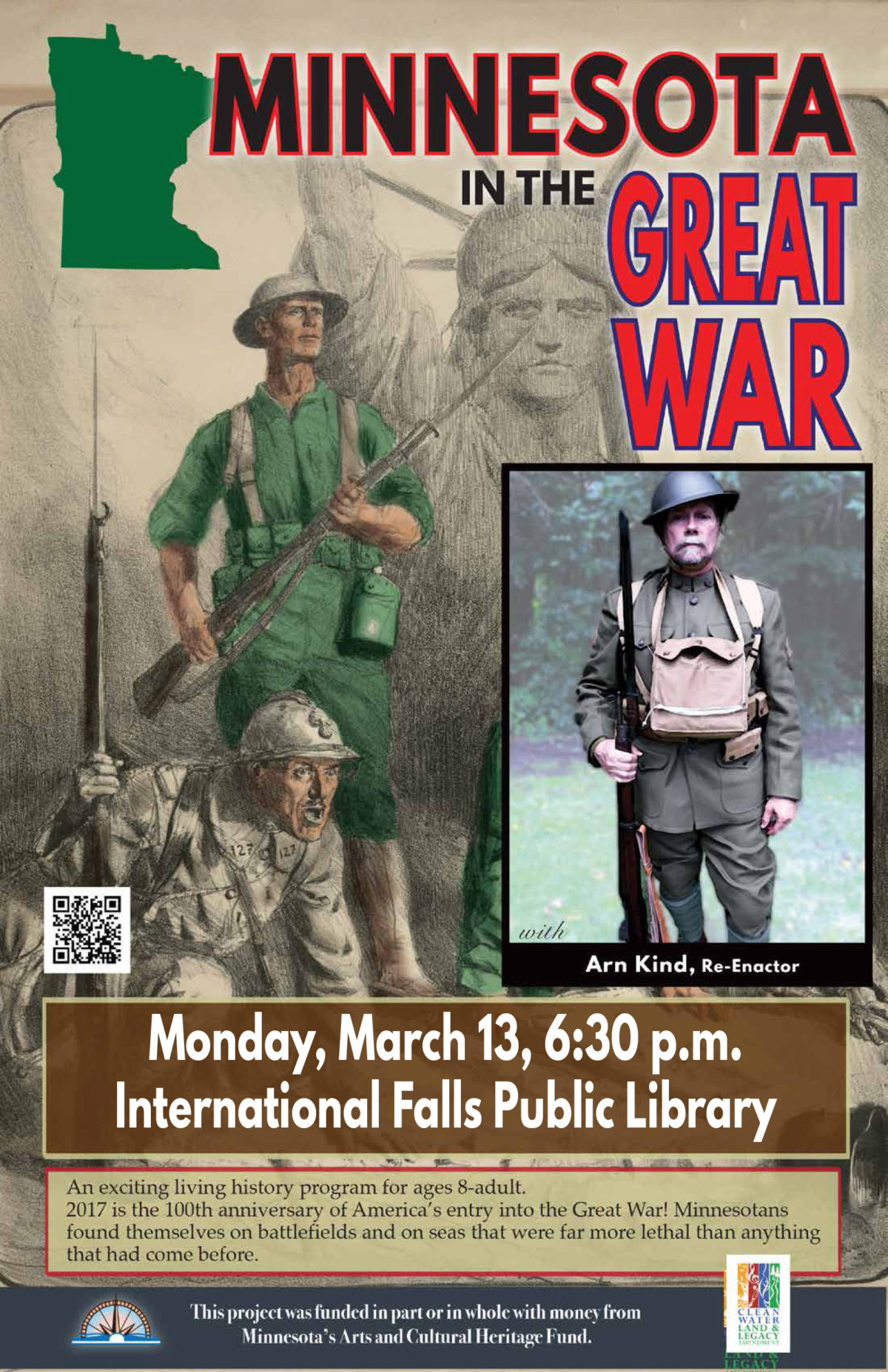 Minnesota in the Great War with Arn Kind