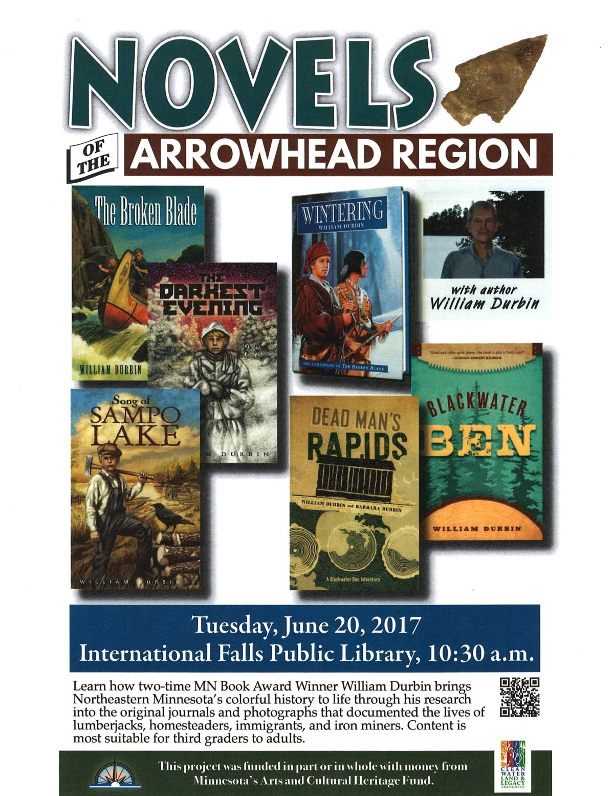 Novels of the Arrowhead Region