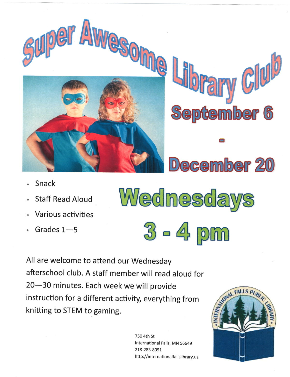 Super Awesome Library Club