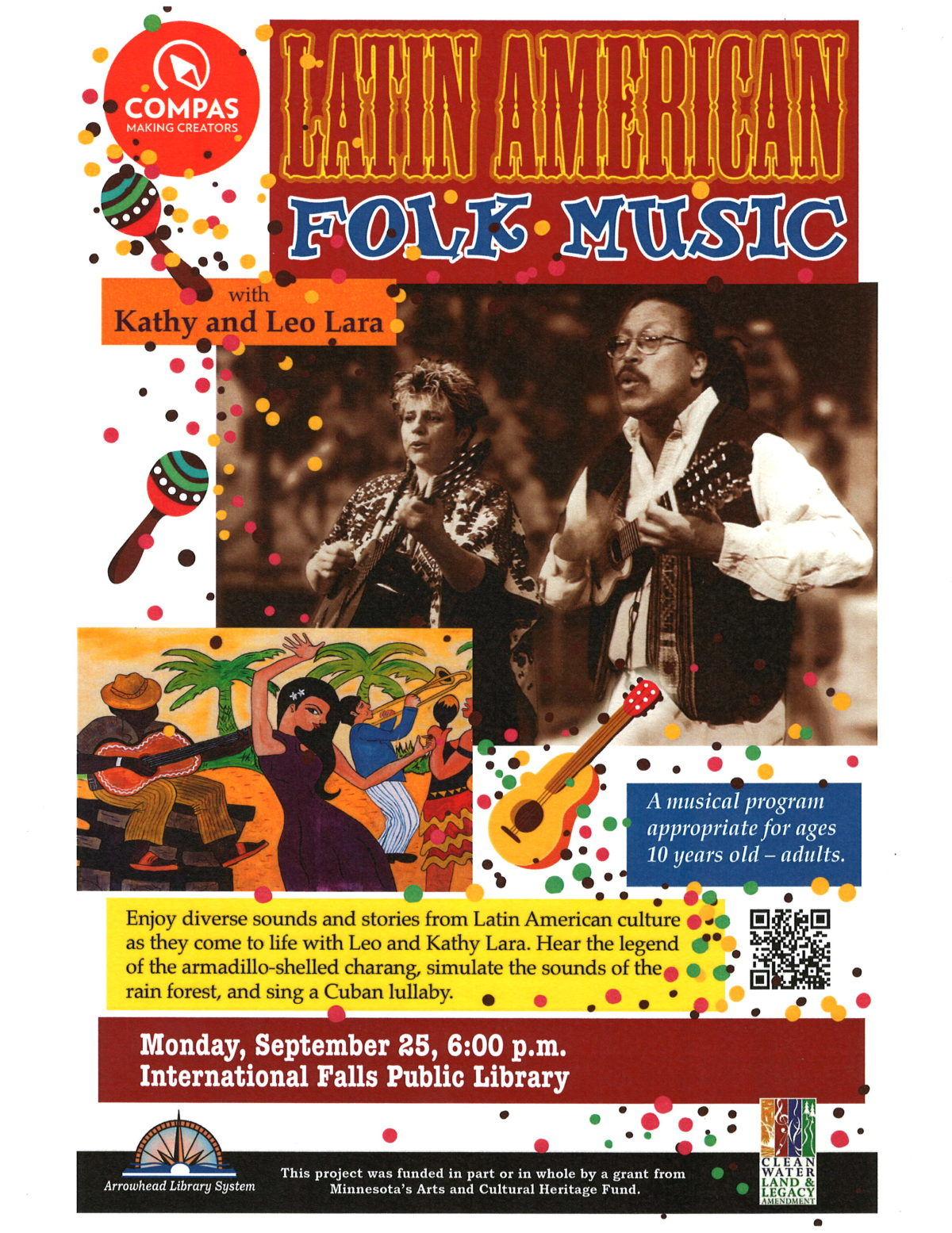 Latin American Folk Music with Kathy and Leo Lara